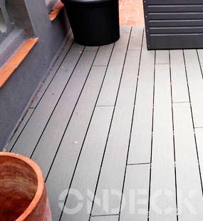 Piezas oscuras on-deck para exterior